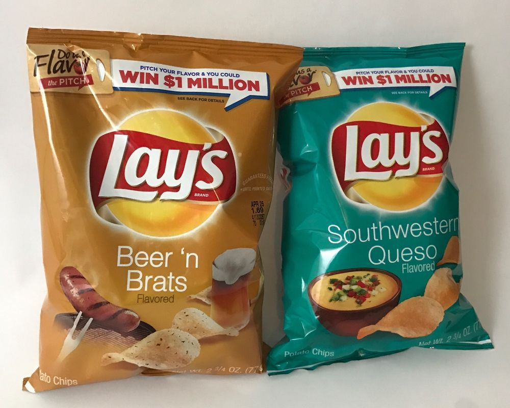 Frito Lays Potato Chips, Beer N Brats And Southwestern -6493