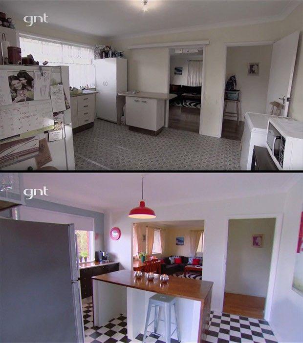 antes e depois, cozinha, rei da reforma (Foto: Divulgao/GNT)