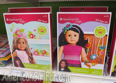 Americangirlfan American Girl Party Products At Michaels Diy Arts