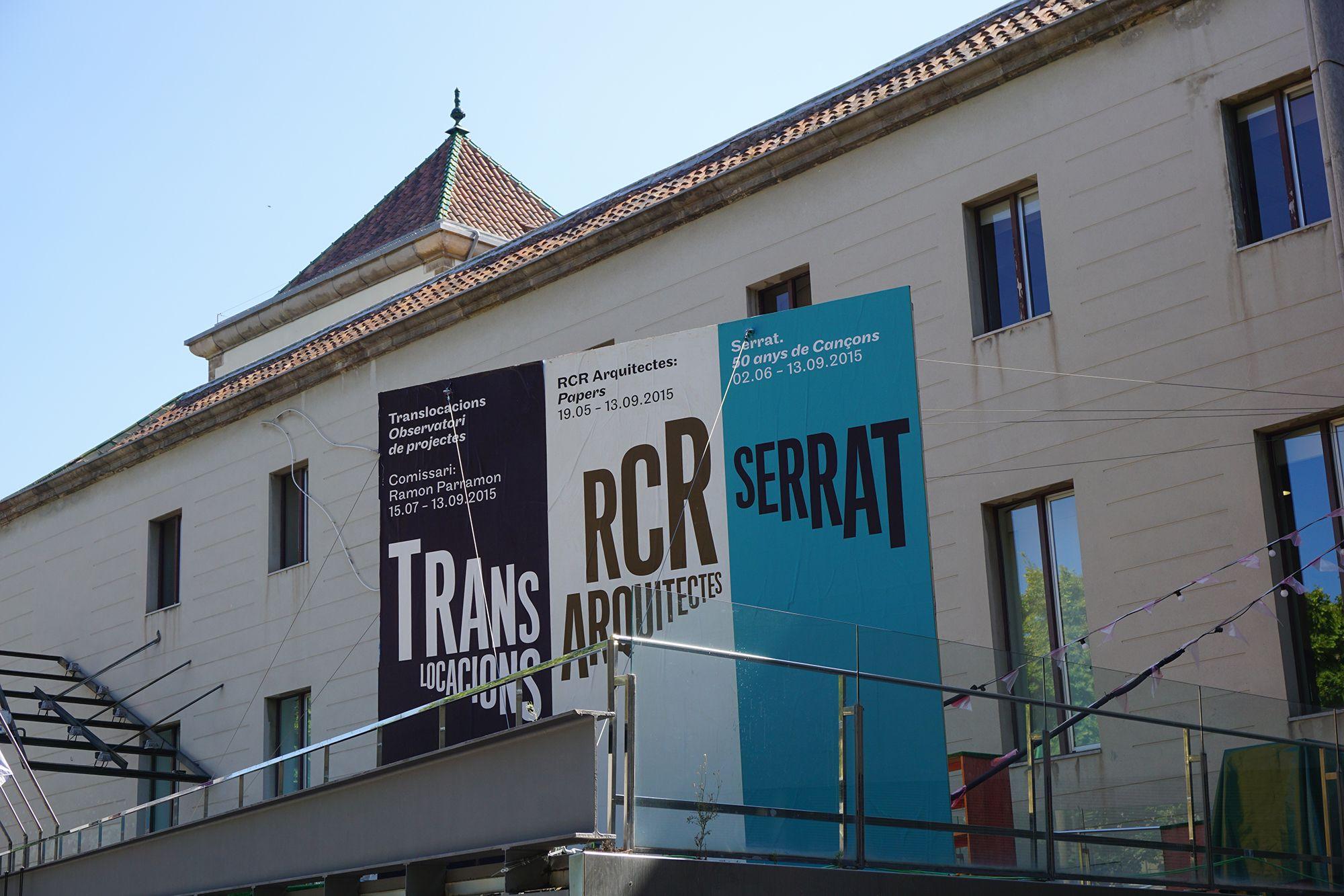 "Cartel de la Exposición ""Translocacions"" en Arts Santa Mónica #Barcelona #Cartel #Affiche #Arterecord 2015 https://twitter.com/arterecord"