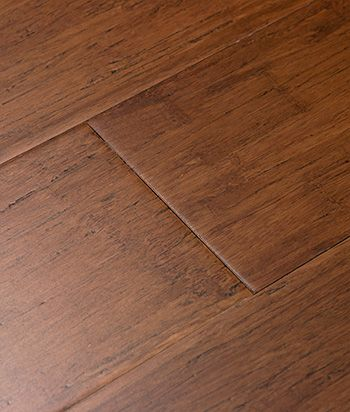 Distressed Java Bamboo Floor Low Voc