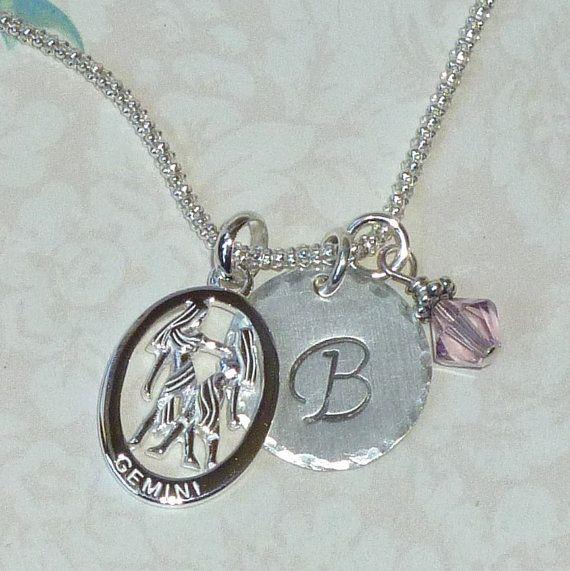 Gemini /& Twins zodiac jewellery Gemini horoscope jewelry,Twins Necklace Pendant
