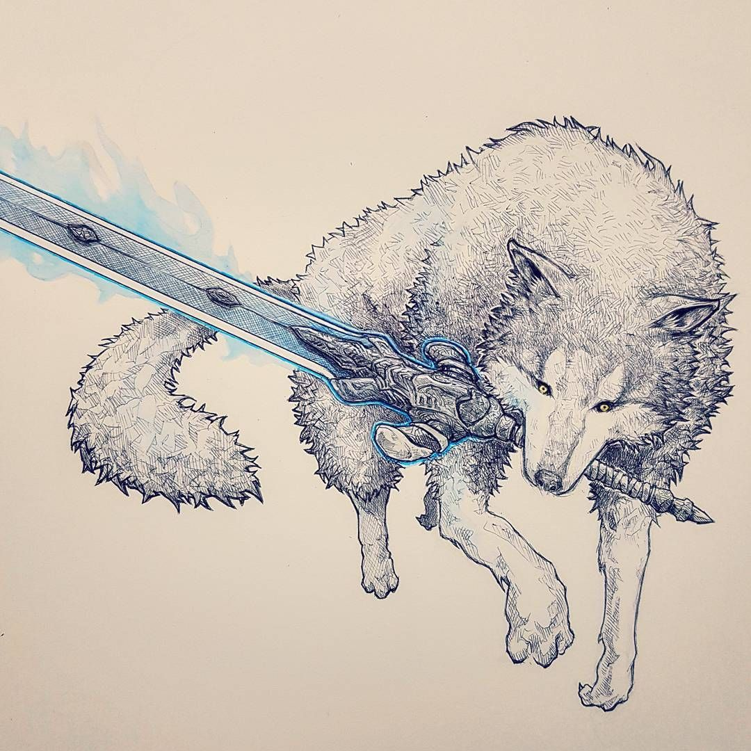 Pin by Taylor Nobles on Inspiring artwork | Pinterest | Gray wolf ...