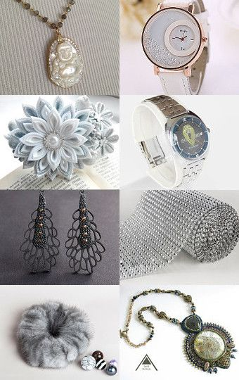 Shades of Gray by Gabbie on Etsy--Pinned with TreasuryPin.com