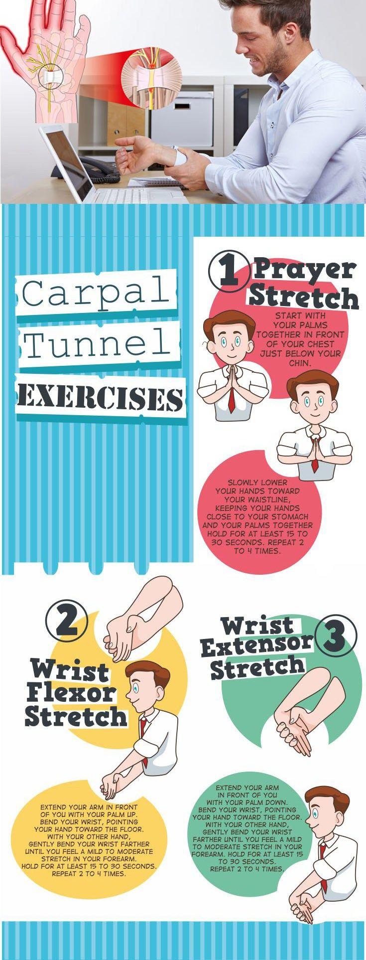 Exercises for treating carpal tunnel oefeningen en