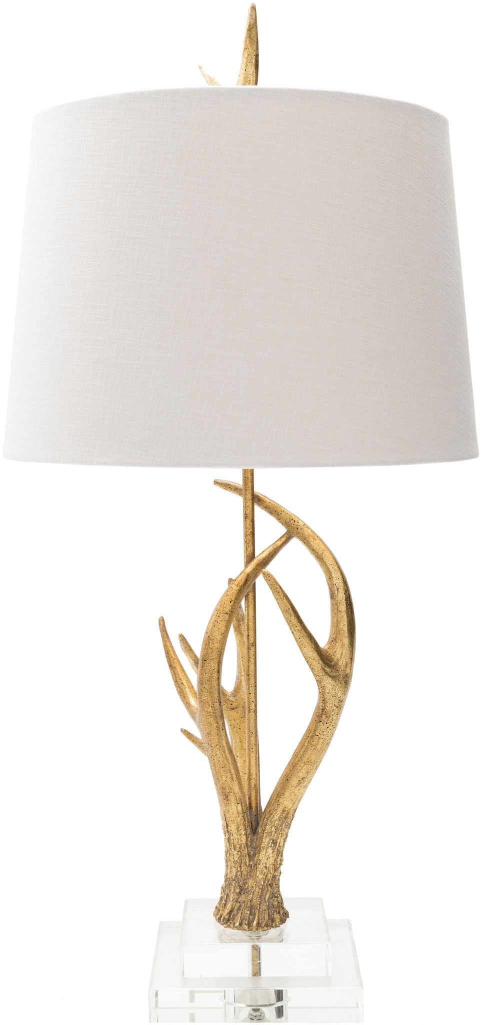 Buckland glamnovelty table lamp painted white products buckland glamnovelty table lamp painted white aloadofball Gallery