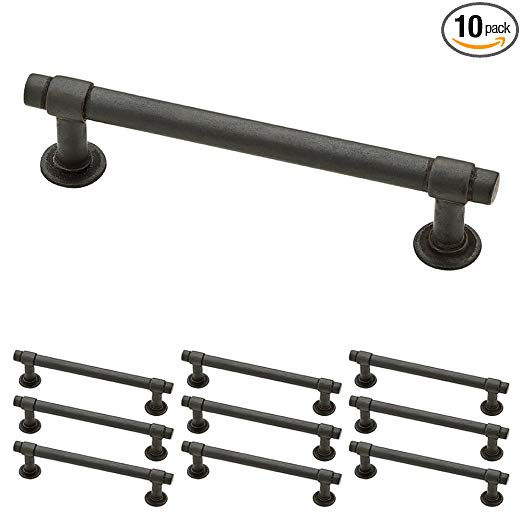 Franklin Brass P29617k Si B Straight Bar Pull 4 Inches 102mm Aged Iron 10 Piece Amazon Com With Images Franklin Brass Kitchen Cabinet Handles Drawer Handles