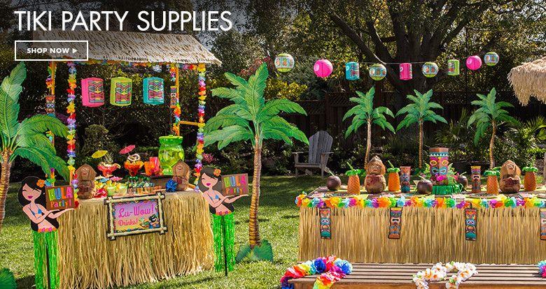 Luau Party Supplies - Hawaiian Luau Decorations - Party City & Luau Party Supplies - Hawaiian Luau Decorations - Party City | Baby ...