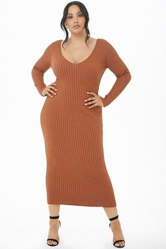 Plus Size Bodycon Midi Dress   Products in 2019   Plus size ...