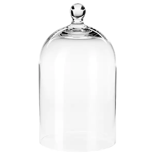 Morgontidig Glass Dome Clear Glass 9 Ikea Glass Domes Decorative Accessories Apothecary Decor