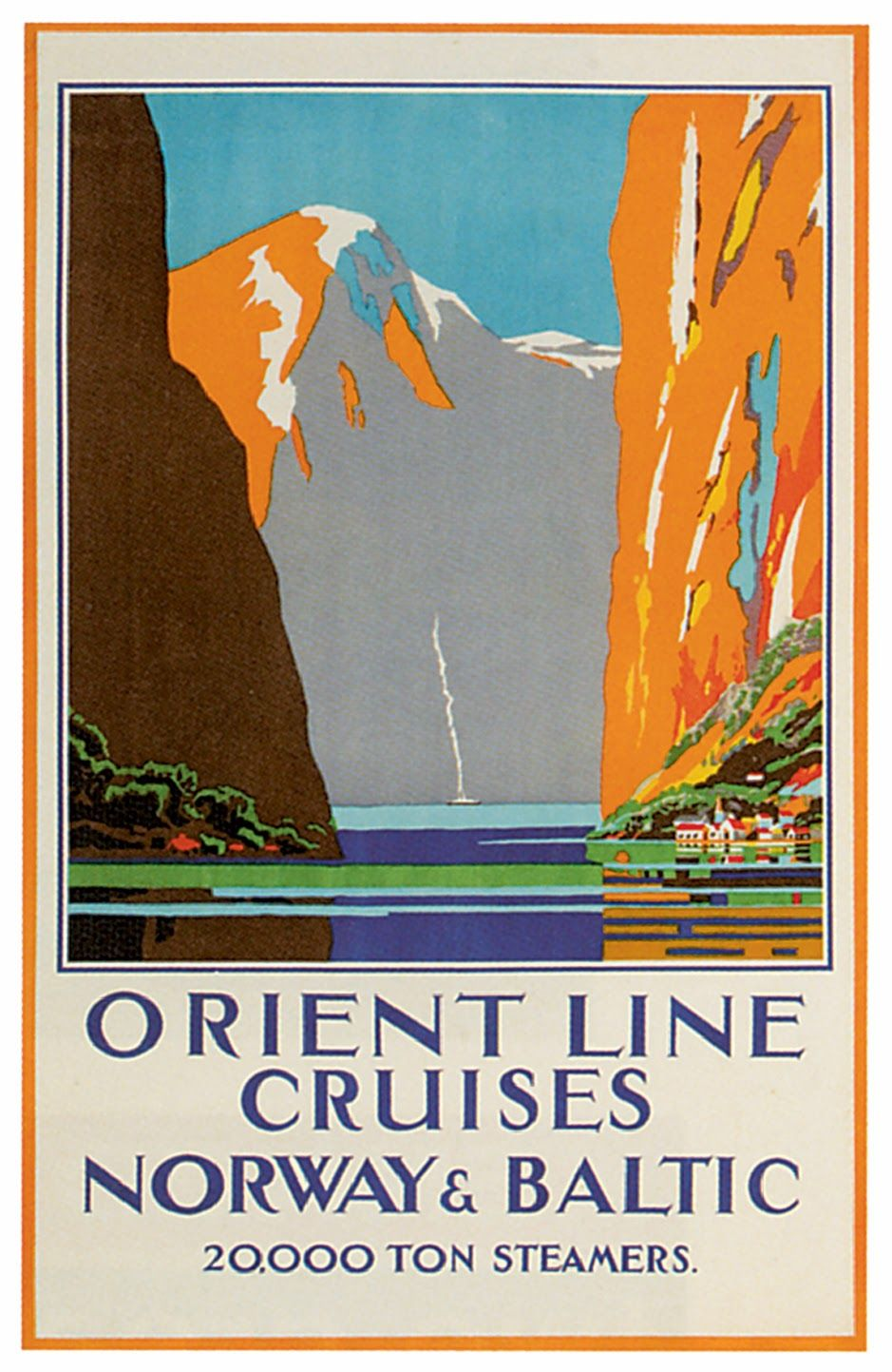 Sisters' Warehouse: Vintage Travel Posters - Poster Vintage - Viaggi
