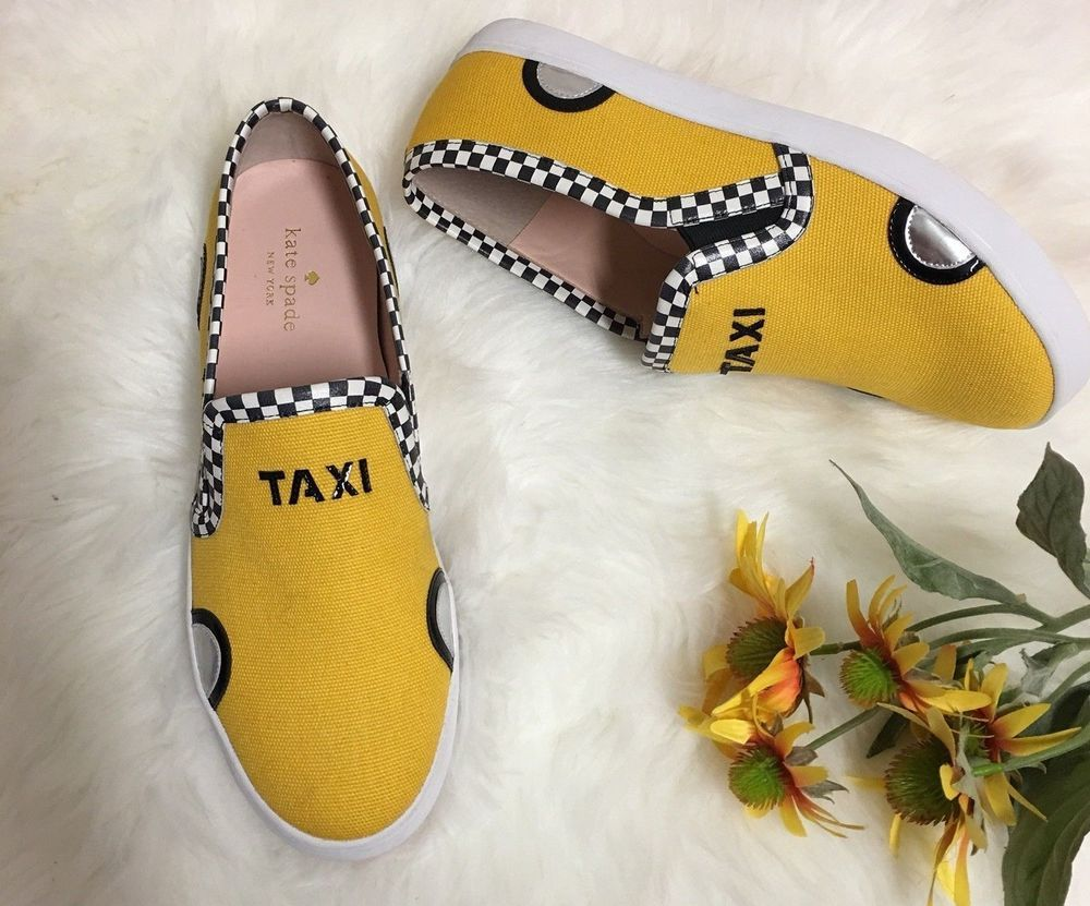 best website 792c7 8dc8e NEW Kate Spade New York Linda Taxi Slip on Shoes Loafers Cab ...
