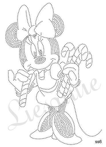 Minnie candy prickelbilder vorlage - Fadenkunst vorlagen ...