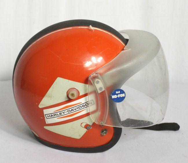 Vintage Harley Davidson Racing Helmet May 16 2013 Revolving Vault Auction Estate Services In Tx Vintage Helmet Racing Helmets Vintage Harley Davidson
