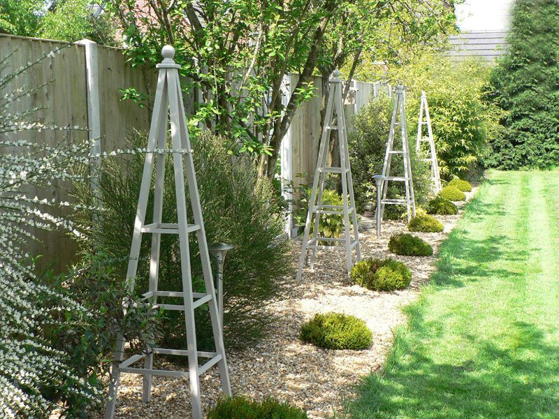 Nice How To Make A Wooden Obelisk For The Garden