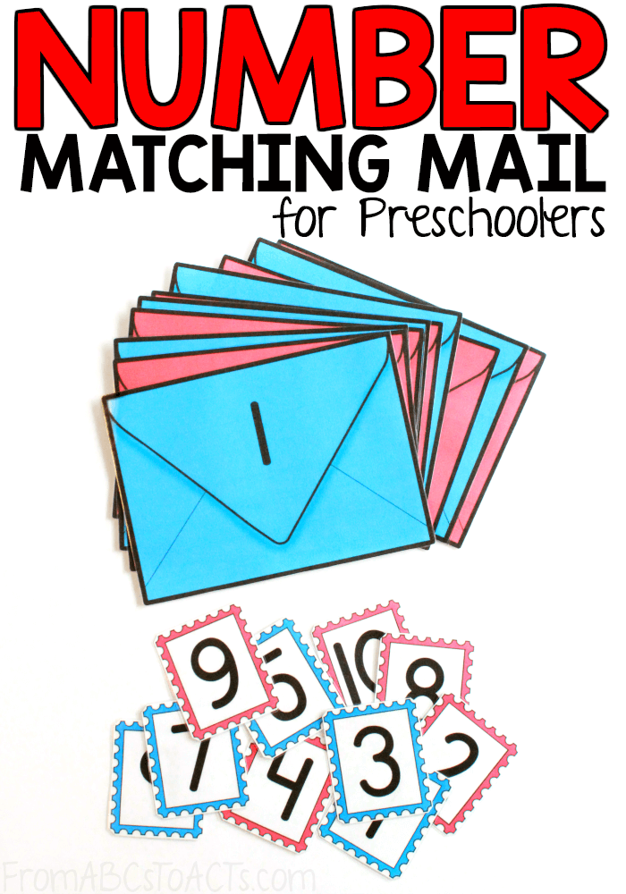 Printable Mail Number Matching