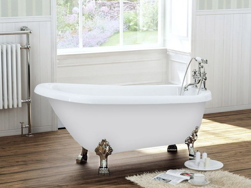 Legend Traditional Bathroom Suite At Victorian Plumbing Uk: Canterbury 1540 X 700 Luxury Freestanding Slipper Bath