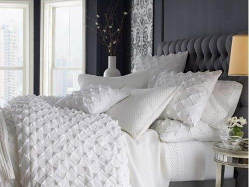 i love a big comfy bed with lots of pillows | Home bedroom ...