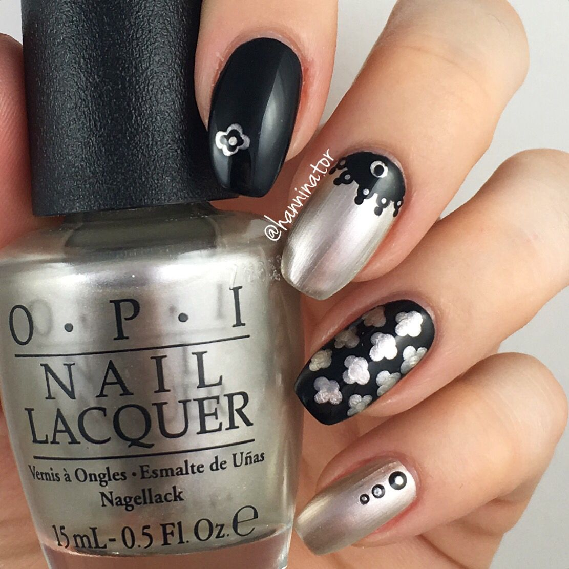 Take a right on bourbon - Lady in black OPI New Orleans collection ...