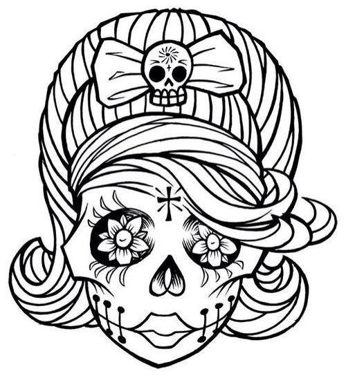 Caveira | Desenho | Pinterest