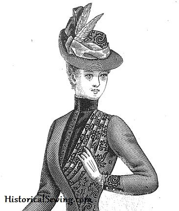 1880s Hat Class — Historical Sewing  0592813907d