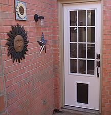 Pet Ready Exterior Doors For People And Pets Doggie