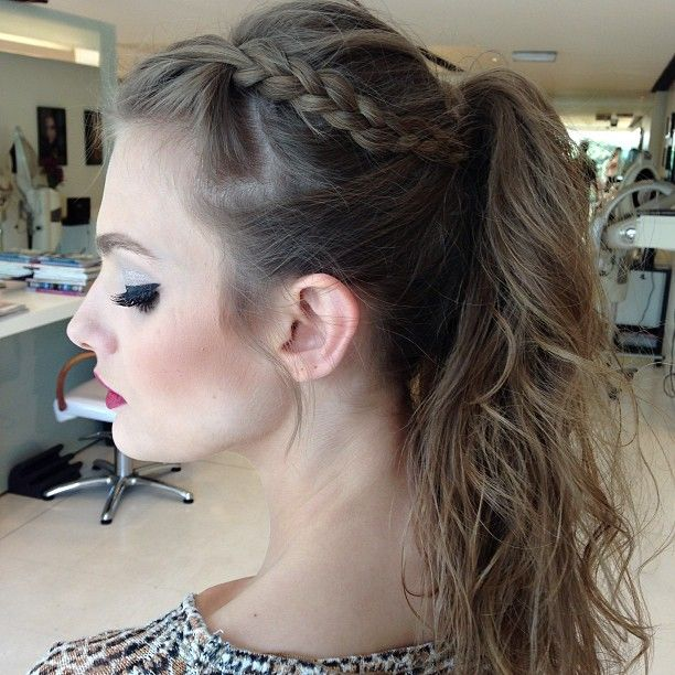 Ponytail | tefy | Pinterest | Marco antonio, Ponytail and Sea spray