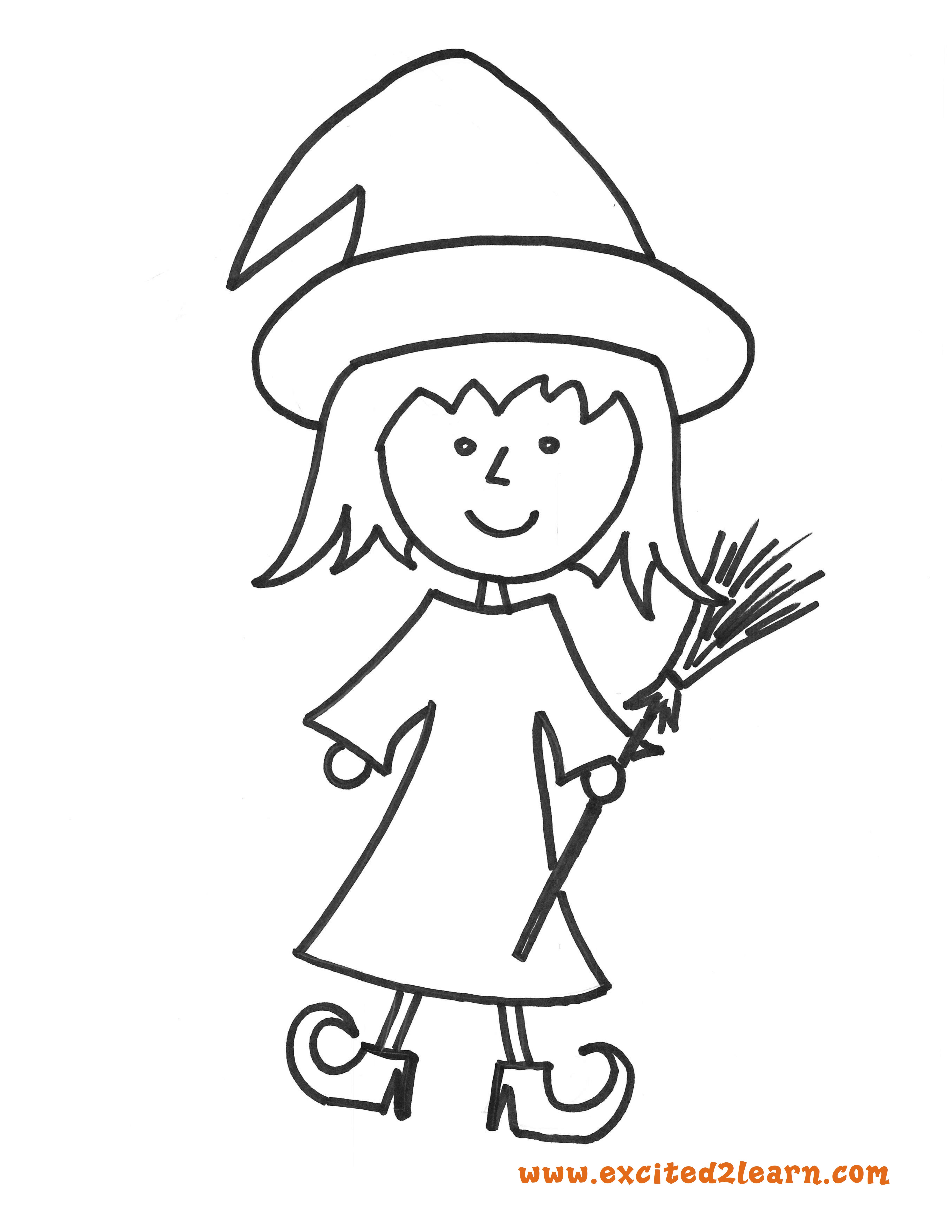 6 Free Halloween Coloring Pages Witch Bat Frankenstein Ghost