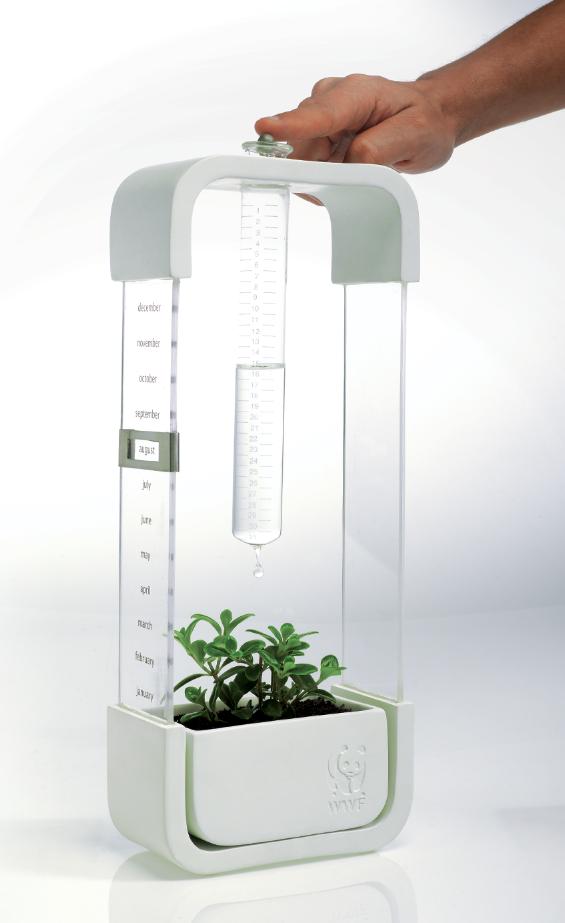 Wwf one daily drop living calendar on industrial design for Hydrokultur design