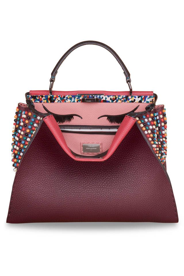 bdbb0bd2352b Fendi tapped stylish celebrities to design their own custom it-bag for  charity. See which celebrities designed their own Fendi bag here.