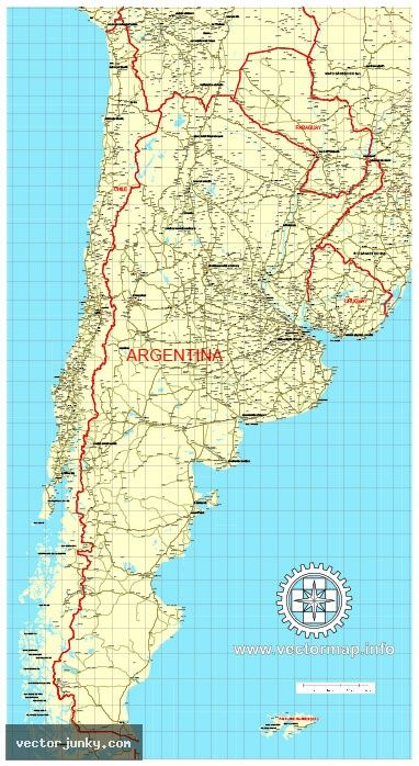 HttpwwwvectorjunkycomfreevectorClipArtArgentinaChile - Argentina map download
