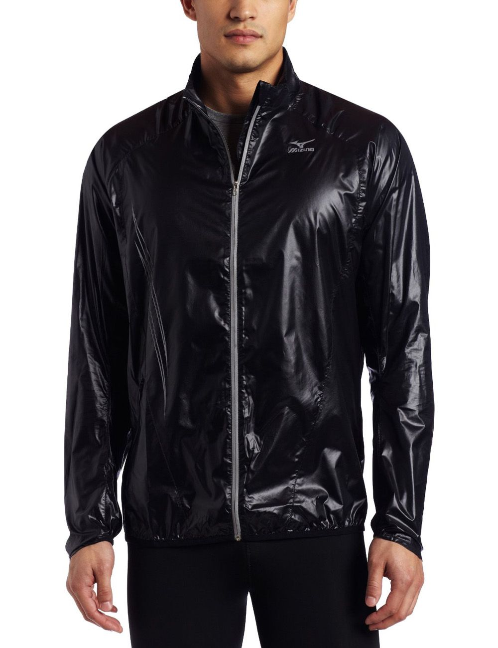 Mizuno Men's Cabrakan Running Nylon Jacket | MENS NYLON JACKETS ...