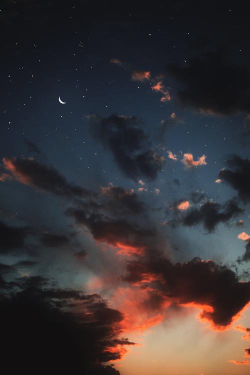 Interesting Images Night Sky Wallpaper Sky Aesthetic Cloud Wallpaper
