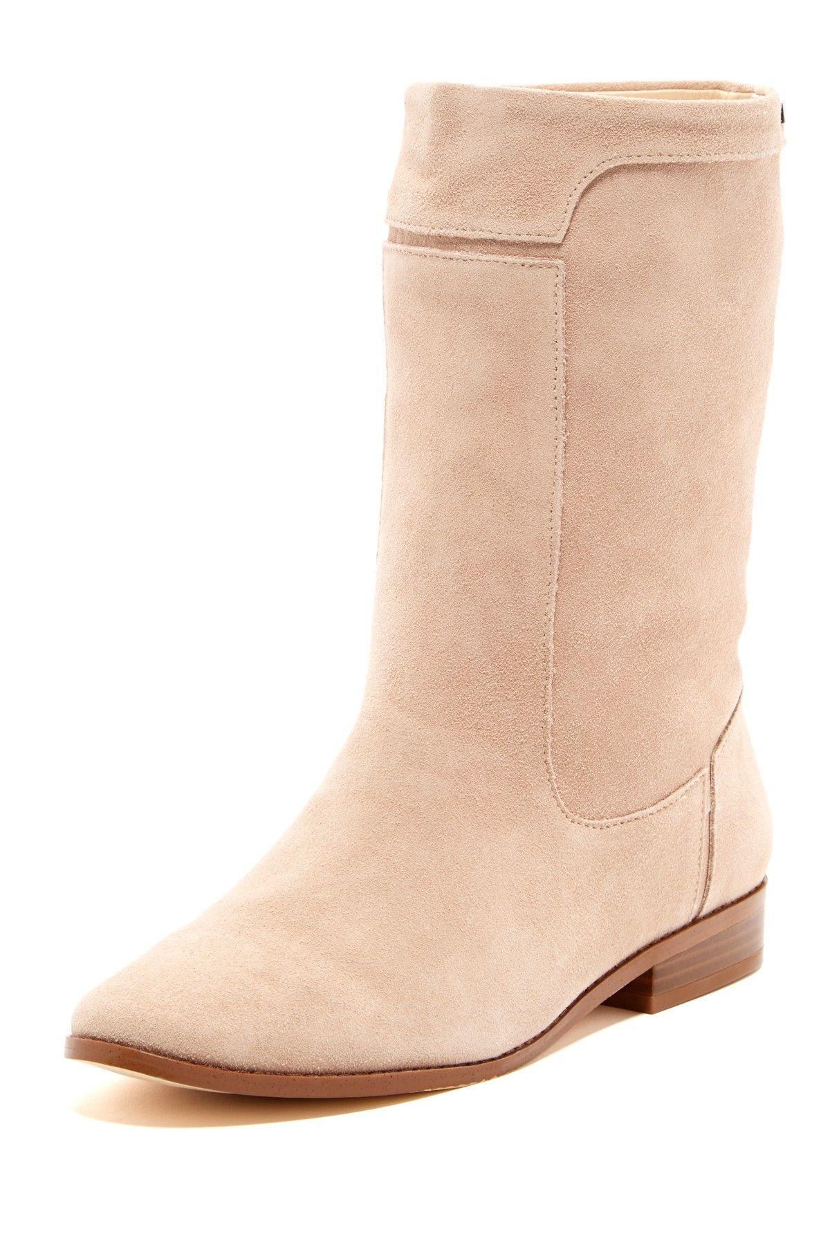 Calvin Klein Clarisa Suede Boots//
