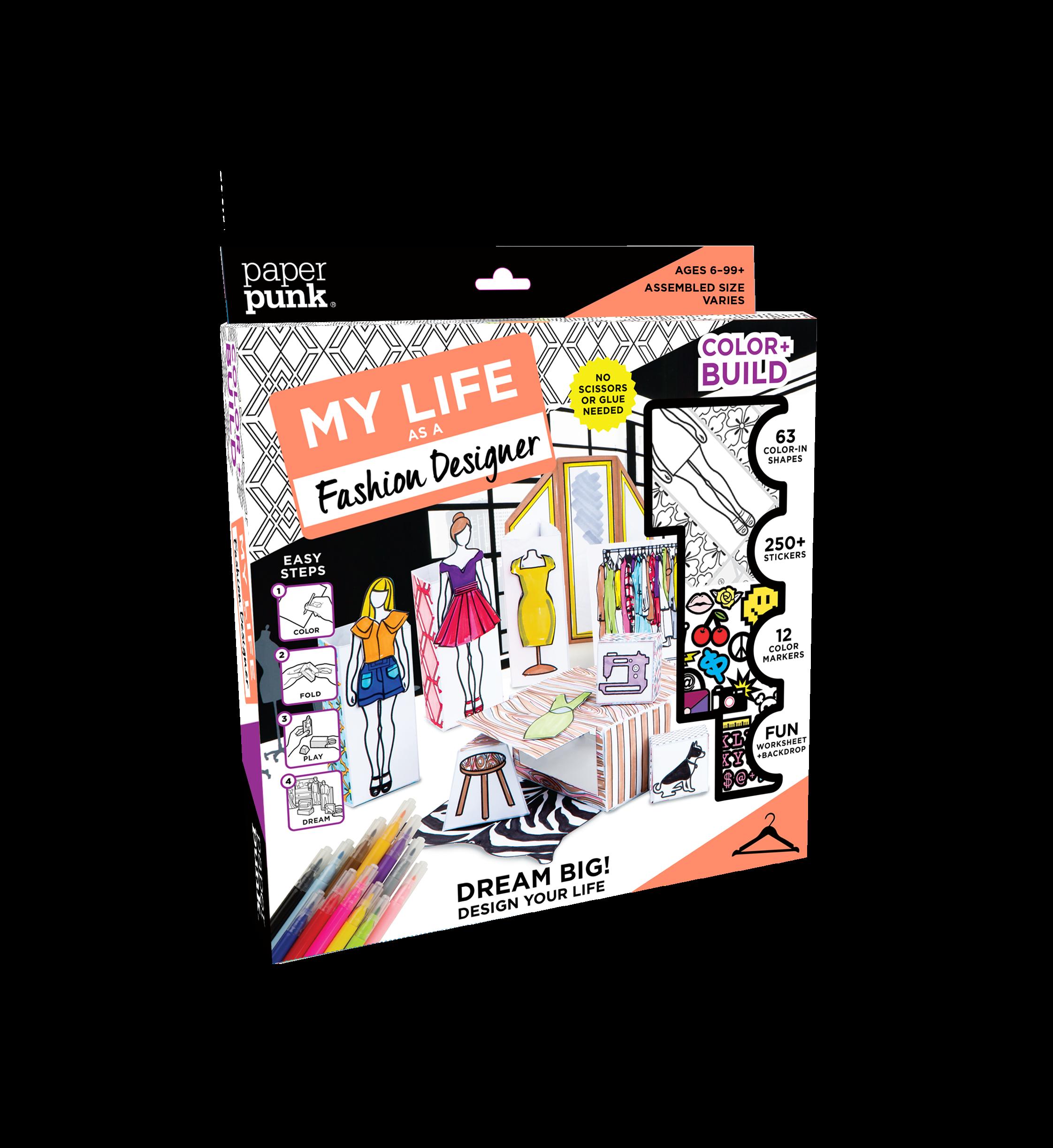 Poster design kit - My Life As A Fashion Designer Kit