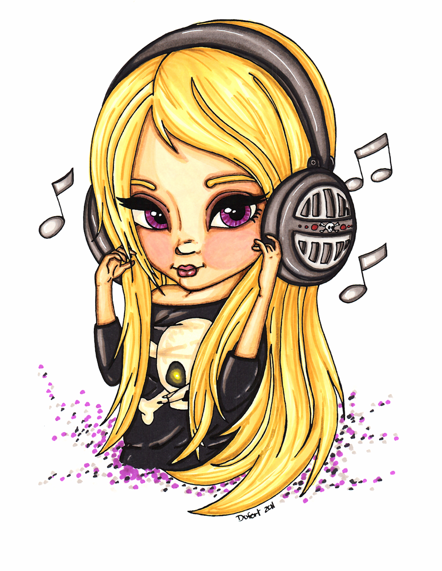 Headphones by on deviantART