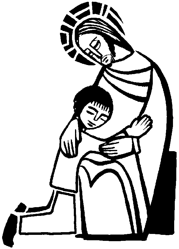 coloring pages christian symbols sacrament of reconciliation coloring page of jesus and childrenkids - Father Coloring Page Catholic
