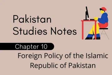 Fsc Part 2 Pakistan Studies Notes Study Notes Science Notes Pakistan