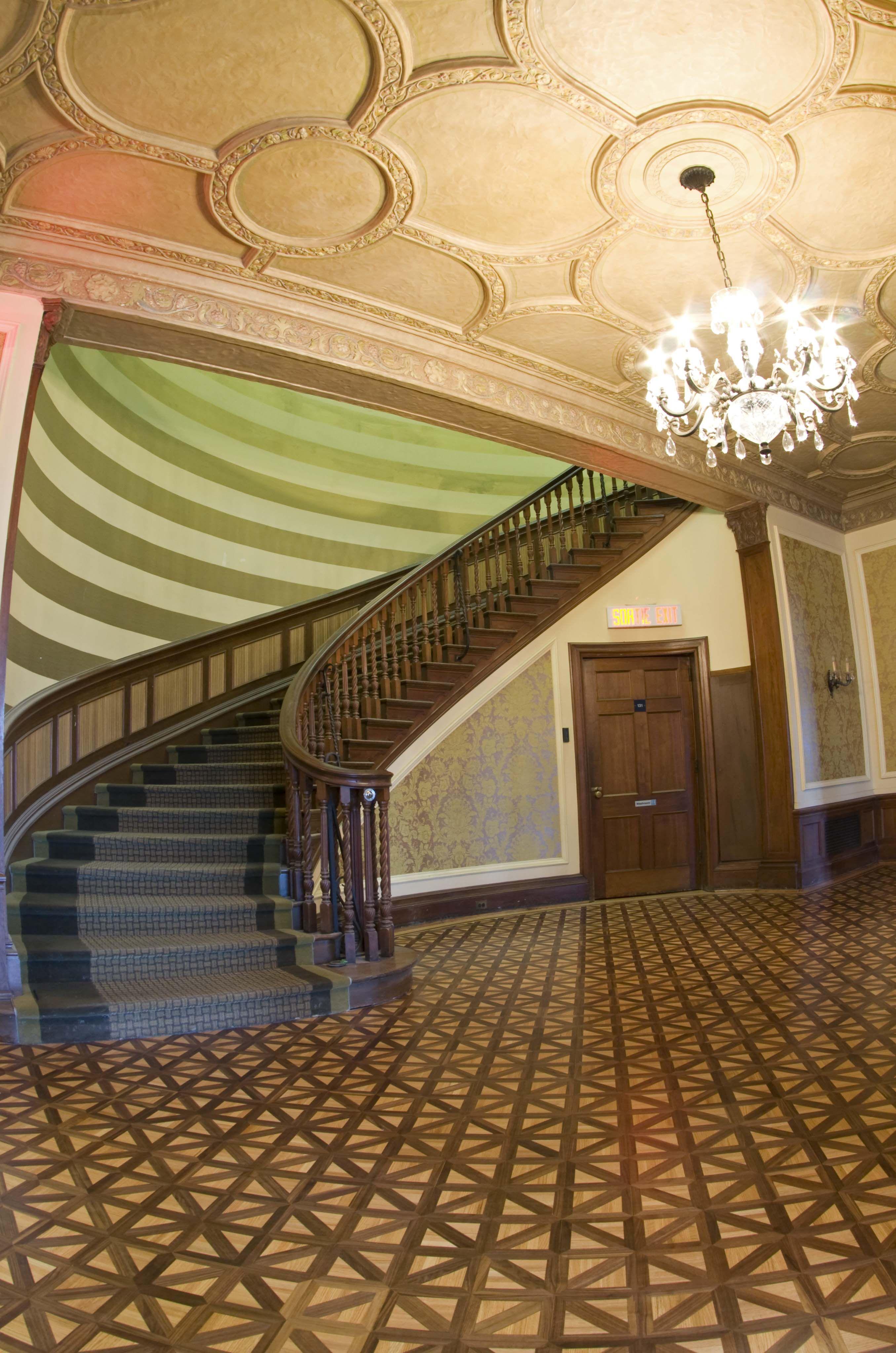 Grand Staircase, Glendon Hall, Toronto