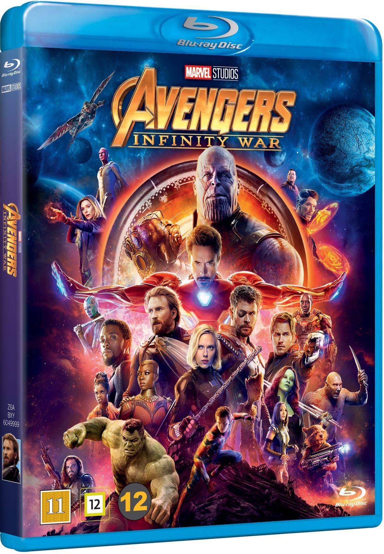 Avengers Infinity War Blu Ray Kob Online Pa Fotex Dk The Avengers Avengers Og Marvel Avengers