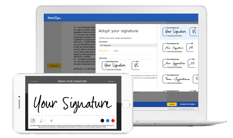 Docusign Laptop Receipt Template Sewing Hacks Template Free