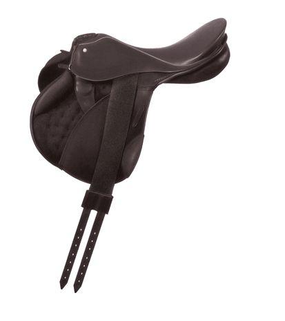 Der Military II ist der ideale Sattel für professionelle Gelände-Reiter. Der Sattel wird ohne Satteltaschen gefertigt – für einen äußerst sicheren und engen Kontakt zum Pferd. Die Oberschenkel- und Wadenpauschen sorgen für einen sehr guten Halt. Mit nur ca. 5,5 kg ist dieser Sattel außerdem ausgesprochen leicht und optimal für den Geländeritt.