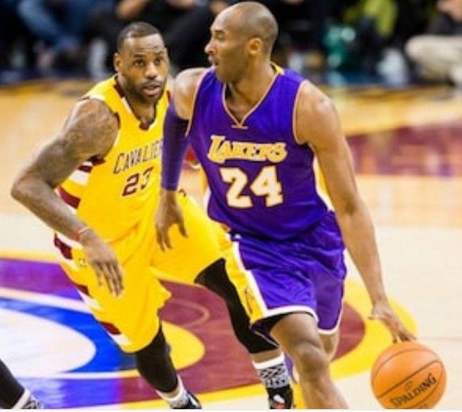 46214ab5158 La Lakers · King James · Cleveland · LEBRON JAMES VS KOBE BRYANT   posterized  posterchild  lebronjames23  lebronjames  james23