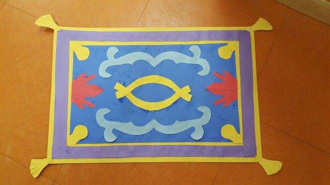 Aladdin S Magic Carpet Craft Aladdin Art Aladdin Magic Carpet Kids Art Projects