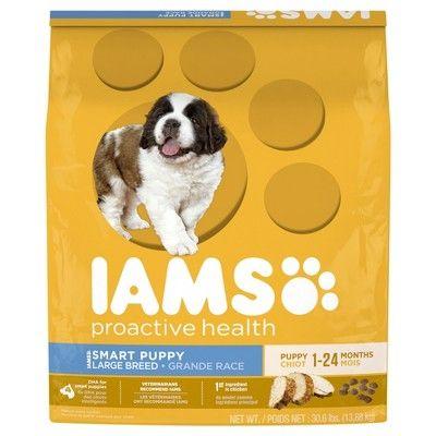 Iams Proactive Health Smart Puppy Large Breed Dry Dog Food 30 6