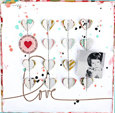 I just adore Shanna's work, she is one of my most favorite scrappers!