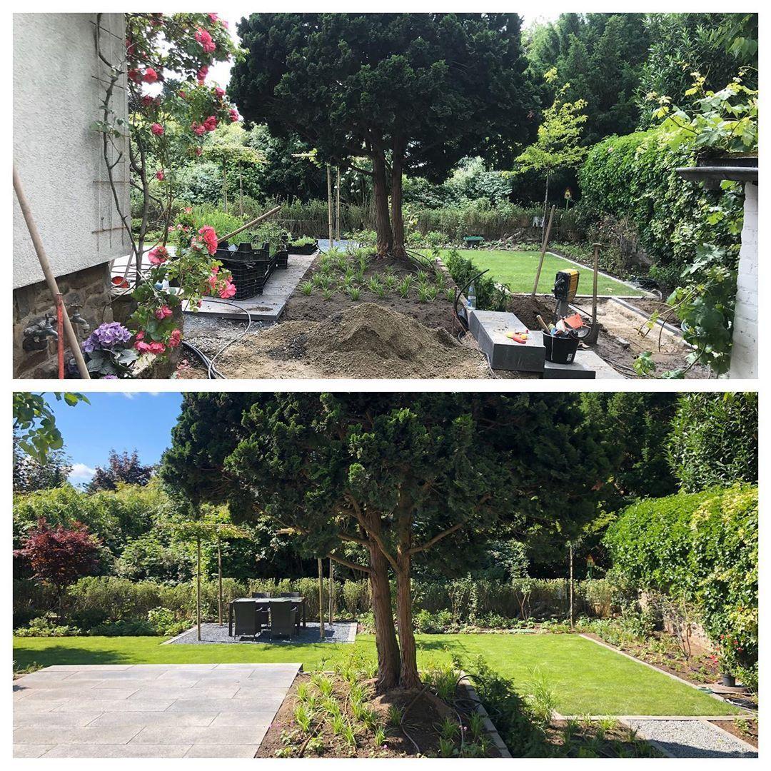 Vorher Nachher Eickhoffgarten Gartengestaltung Gartenbau Gartengestaltung Gartenpflege Vorhernachher Traumgarten Gart Gartenpflege Traumgarten Garten
