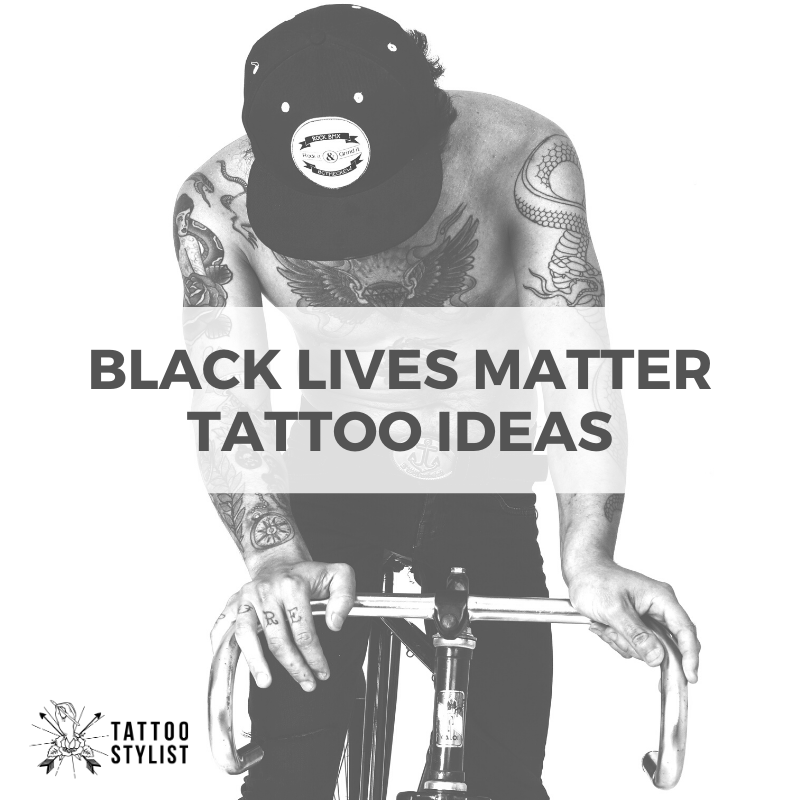 Pin On Black Lives Matter Tattoos To Stand Up Today