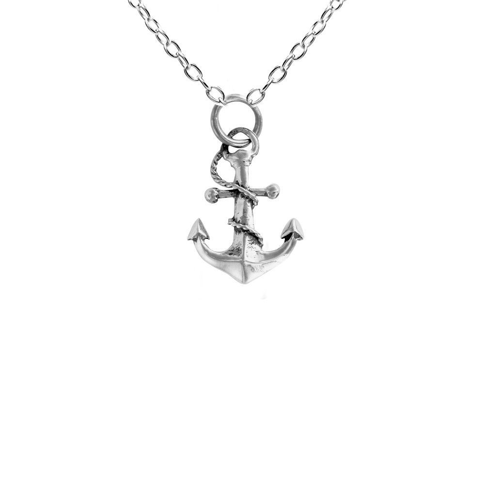Box or Curb Chain Necklace Rembrandt Charms Sterling Silver Dirt Bike Charm on a 16 18 or 20 inch Rope