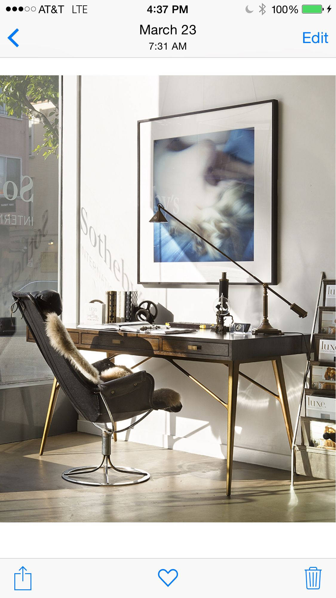 Office desk by tineke triggs ADL | Tineke Triggs and ADL Designs ...